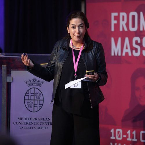 Abeer AlNajjar, 3CL Post-truth Society Conference, 2019