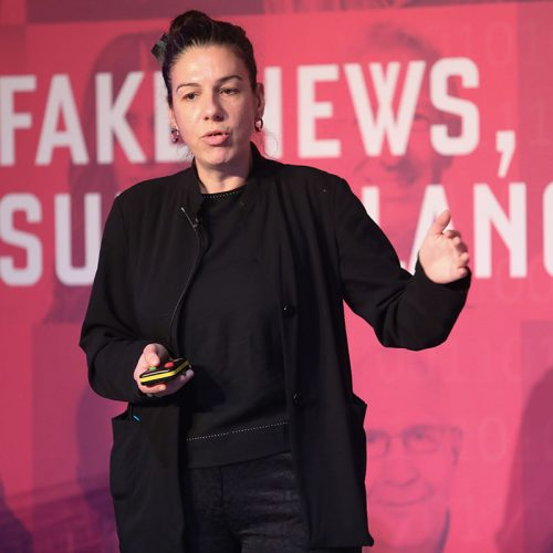 Athena Karatzogianni, 3CL Post-truth Society Conference, 2019