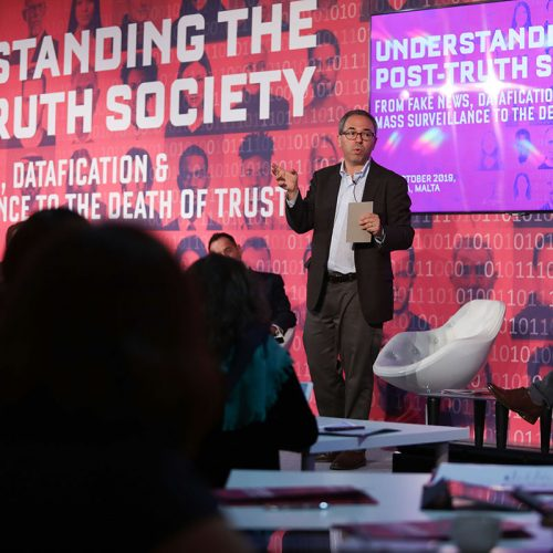 Kenneth Cukier, 3CL Post-truth Society Conference, 2019