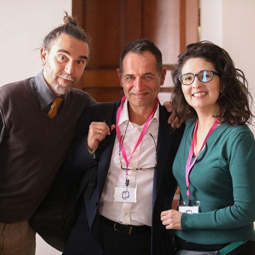 Massimiliano Fusari, Alex Grech & Lina Zuluaga, Post-truth Society Conference, Malta, 2019
