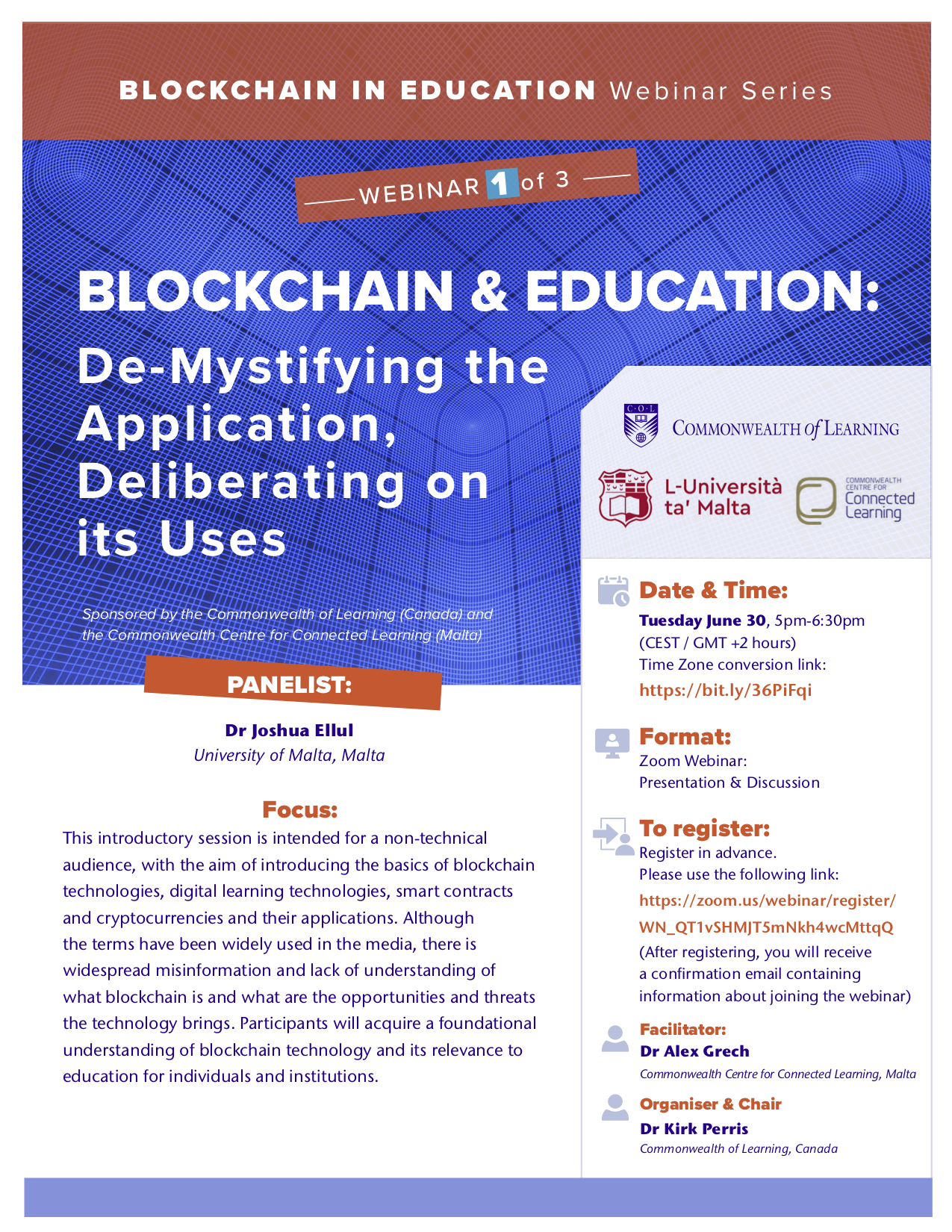 Blockchain & Education Webinar