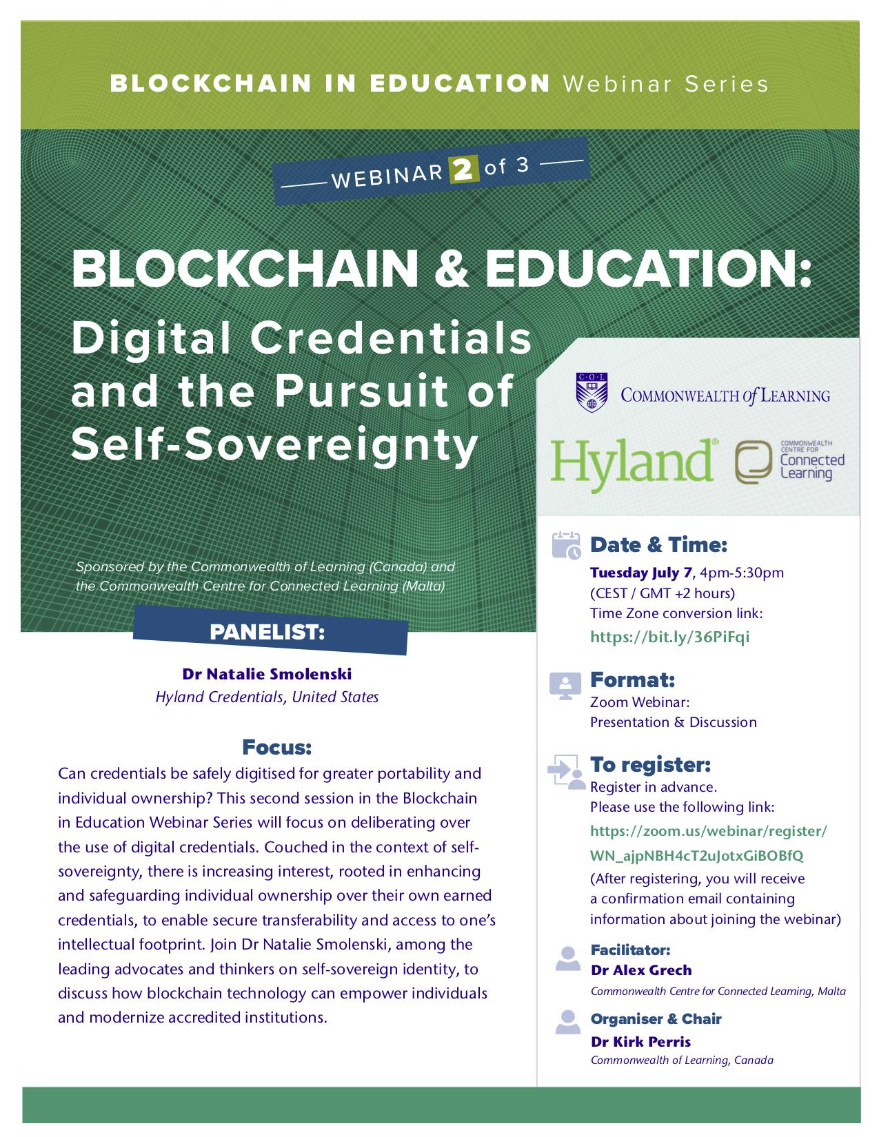 Blockchain Webinar 2