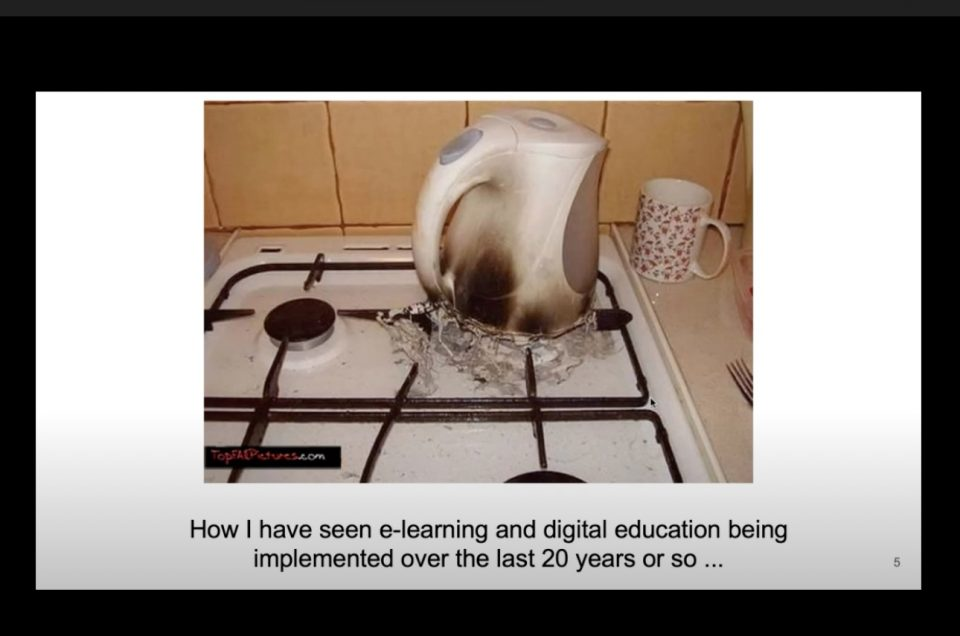 digital education webinar NCFHE