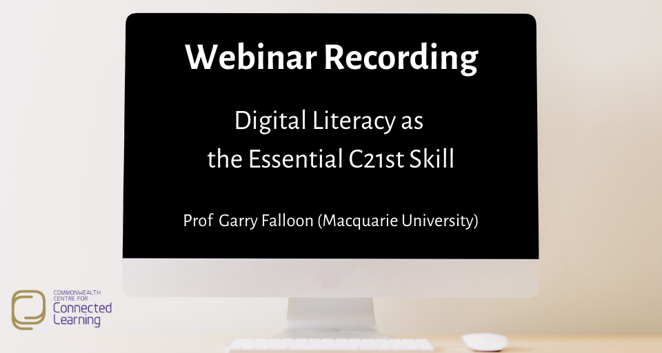 DLLE- Digital Literacy Webinar