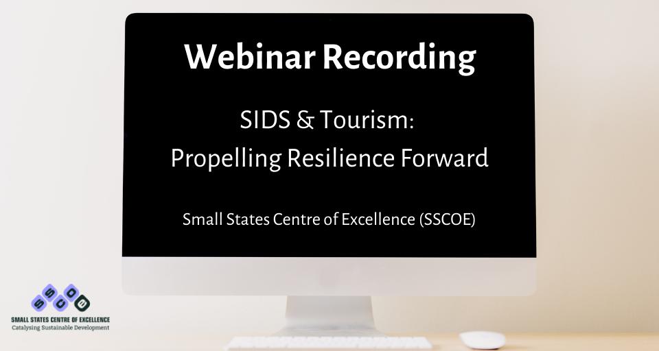 SIDS tourism webinar