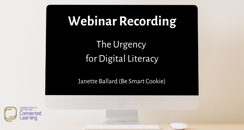 The Urgency for Digital Literacy