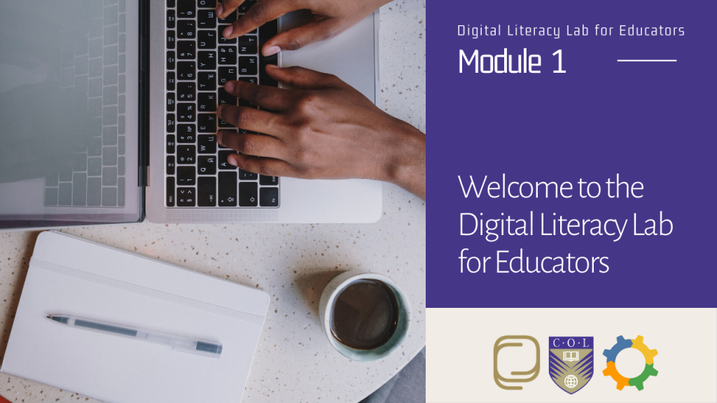 1. Welcome to The Digital Literacy Lab for Educators