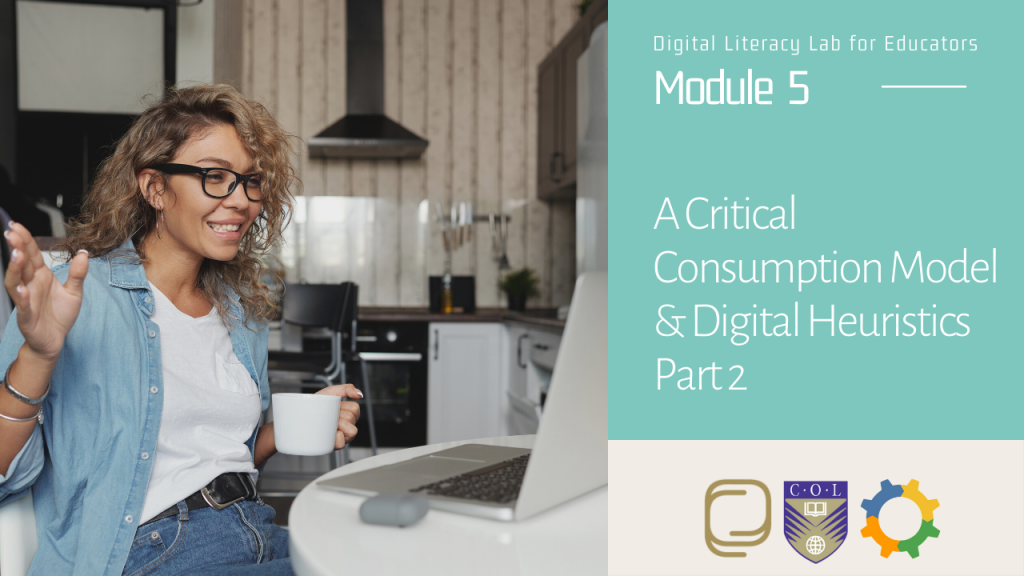30. A Critical Consumption Model and Digital Heuristics (Part 2)