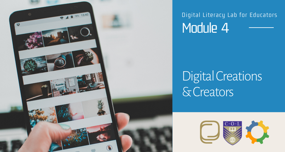Module 4: Digital Creations and Creators