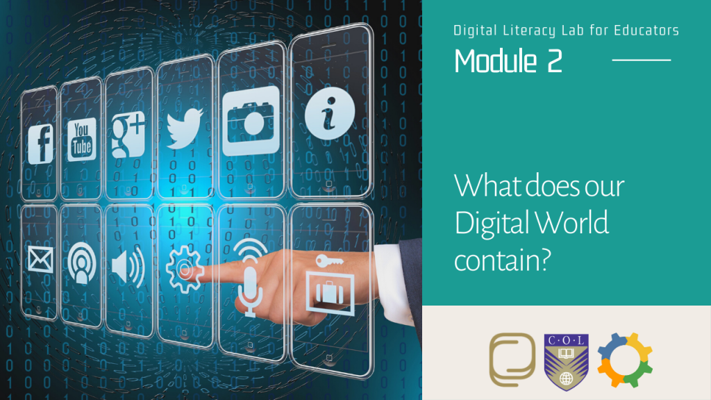 5. What does our Digital World contain?