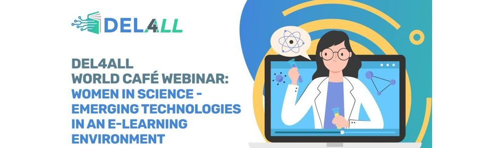 DEL4ALL women in science world café webinar