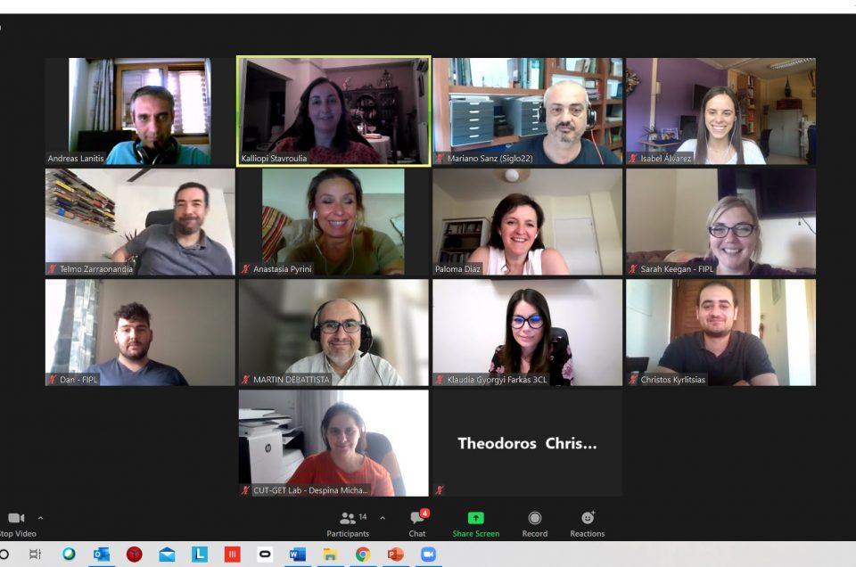 VRTeacher kick-off meeting screenshot